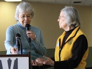 Sue Boyd and Dorothy Anderson